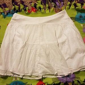 J crew White skirt